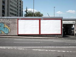 "Empty walls (see more at Series ""Billboards-Advertising"")"