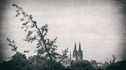 Cologne Catherdral nostalgic version 2 (see more at architectural - Koelner Dom)